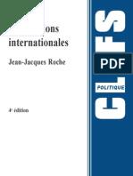 th des relations internationales