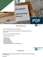 MRP Planning Process