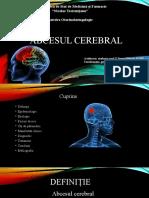 Abces cerebral