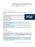 CONTRIBUTION SOCIALE DE SOLIDARITÉ-2