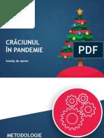 IRES_CRACIUN IN PANDEMIE_2020_SONDAJ DE OPINIE