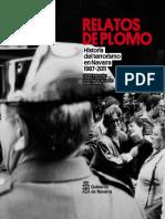 Relatos de Plomo Historia Del Terrorismo. TOMO II