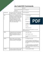 AutoCAD 2000 Commands1111