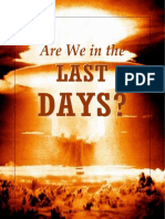Are We in the Last Days