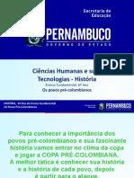Os Povos Pré-Colombianos COPINHA