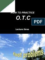 Otc Practice Lec 3