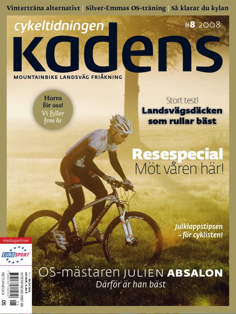 6815722333b Cykeltidningen Kadens # 8, 2008