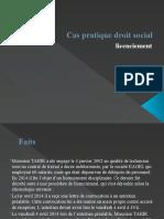 Cas pratique droit social - licenciement 3.pptx