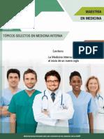 Lectura La Medicina Interna retos y oportunidades al inicio de un nuevo siglo MII