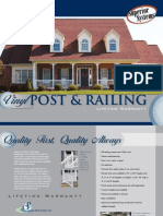 Superior PVC Railing