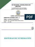 CLASE II sistemas numericos-2020 II