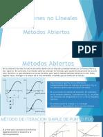 Ecuaciones No Lineales Metodos Abiertos y Convensionales Clases