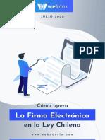 Como opera la Firma electrónica en Chile