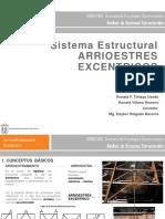 SISTEMA ESTRUCTURAL, ARRIOESTRES EXCENTRICOS