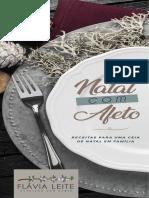 Natal com Afeto de Flávia Leite, nutricionista