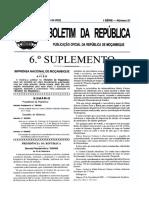 Decreto n.º 53:2005 - Cria as secções Espcializadas em Materias Comerciais