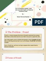 Financial Statement Fraud - Shams Hamdan.pptx