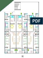 Immeuble R+3 ,3 appartements de 3 pièces-Model