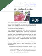 produk olahan sederhana rumput laut