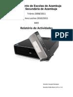 Relatório Aulas 20/01/2011/-11/02/2011
