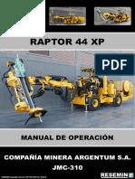 MANUAL DE OPERACIÓN RAPTOR 44 XP JMC-310.pdf