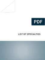 Dental-List-of-specialties-Registration-Standard