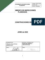 PROCEDIMIENTO INSPECCIONES PLANEADAS