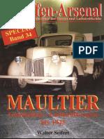 WASp34 - Maultier - Gleisketten-Lastkraftwagen bis 1945