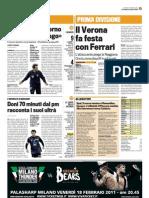 La Gazzetta Dello Sport 15-02-2011
