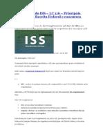 Resumo Lei do ISS