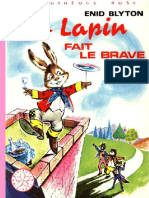 Jojo Lapin fait le brave - Enid Blyton