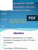 Lect Unit II Abortion.ppt