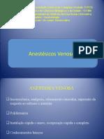 anestesicos venosos (Dr André)