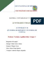 UNIDAD II - Contabilidad y Costos - Ing. Mecánica