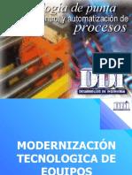 Modernizaciòn Tecnologica de Equipos