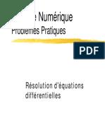 Analyse Numérique - Résolutions D'Equations Différentielles.pdf