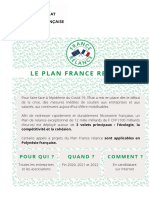 Plan France Relance (A4)