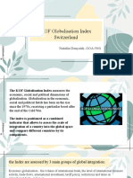 KOF Globalisation Index Switzerland