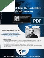 The role of John Rockefeller in global economy_Denysiuk N