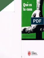 SACRISTE, Eduardo - Qué es la casa (desde pág. 66)
