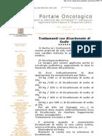 Trattamenti con bicarbonato di sodio
