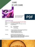 Pelatihan Perawatan Paliatif - STIKES Telogorejo - 21-23 Desember 2020