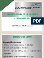 CARRERA DE ESPECIALIZACION EN PSICOTERAPIA INTEGRATIVA CON ORIENTACION