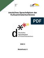 Modellsatz 6 DSD II Mit Lösungen