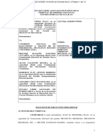 Injunction Presentado por PD