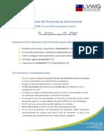 Protocolos Intervencion  CDS Resumen