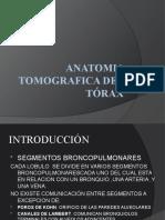 ANATOMIA TORAX TAC