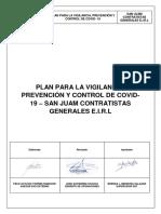 Plan COVID SAN JUAM CONTRATISTAS GENERALES