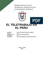 El Teletrabajo en El Peru