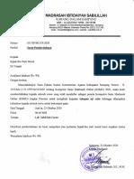 Surat Pemberitahuan KSMO 2020
